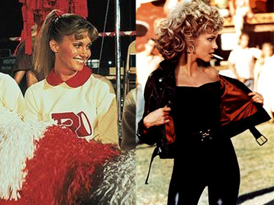 Displaying (20) Gallery Images For Sandy From Grease Hairstyles...