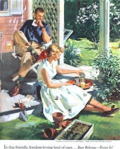 painting by John Gannam