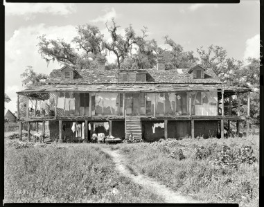 St Charles Parish, Abandoned Plantation 1938