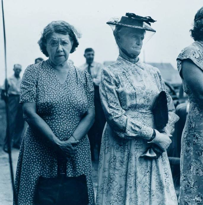 """Prayer Meeting in Tomball, TX 1945 from """"Traces of Texas"""""""