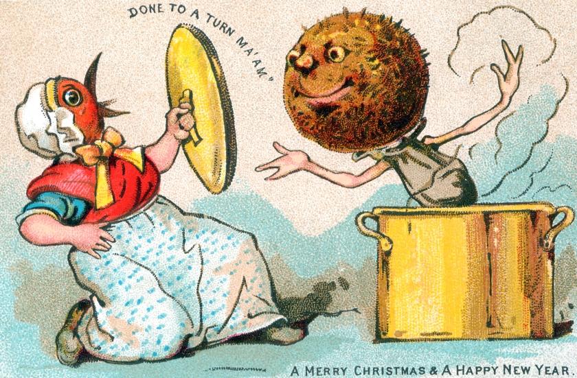 birdwomanchristmas pudding