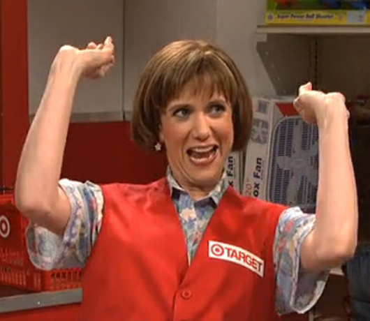 Delightful SNL Target Lady