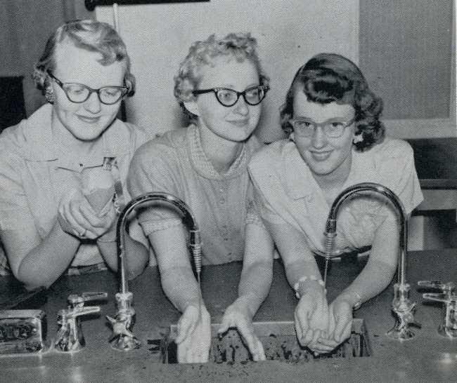 1957 Biology Class