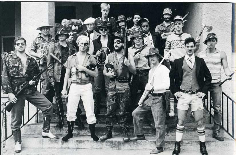 1981 Navy ROTC Midshipmen