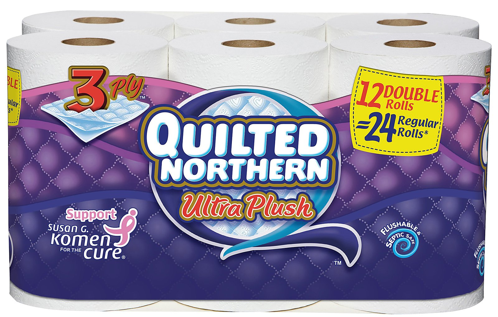 bathroom soft paper quilted itm linen tissue strong sentinel luxurious toilet northern quilt rolls ply