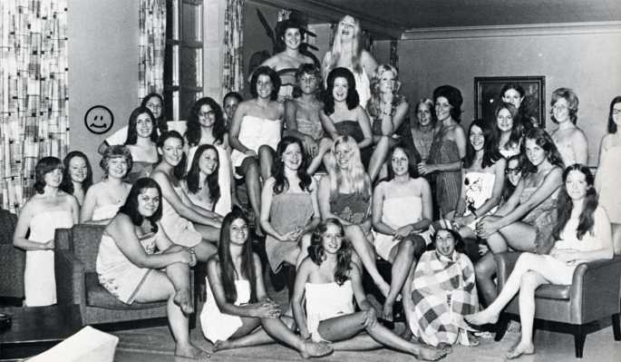 Indiana University Women's Dorm 1973