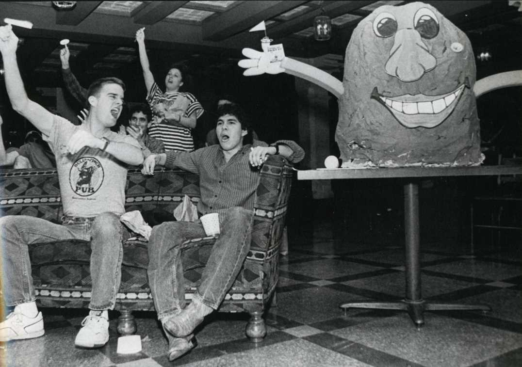 The Texas Union's annual Couch Potato Party 1988
