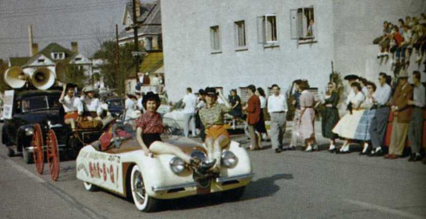 1955 Football Parade