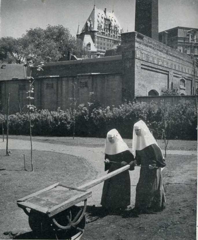 Ursuline Convent in Quebec, June 1952