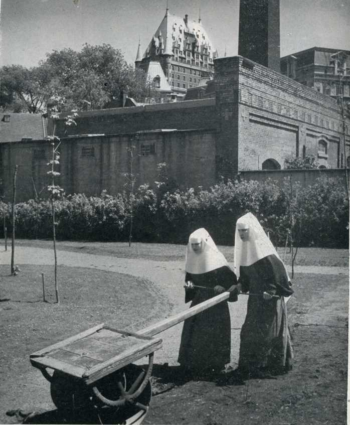 Ursuline Convent in Quebec, June 1952