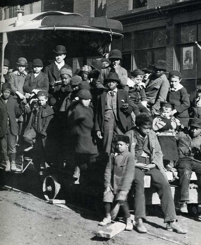 Leavenworth's First Electric Rail Streetcar 1902 by Horace Stevenson