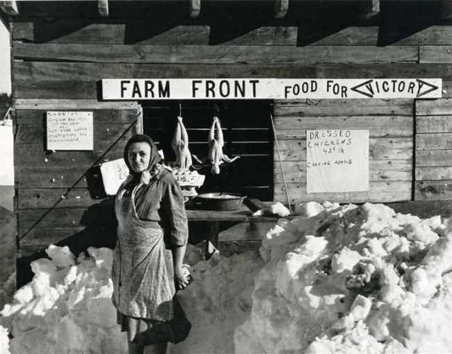 "Augusta, Maine farmstand 40s from Okrent's ""The Way We Were"""