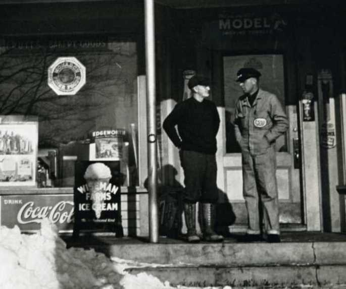 Libby Bros in Albion, Maine  (The Way We Were by Daniel Okrent)
