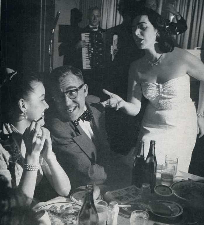 The Coronet nightclub in Quebec 1952
