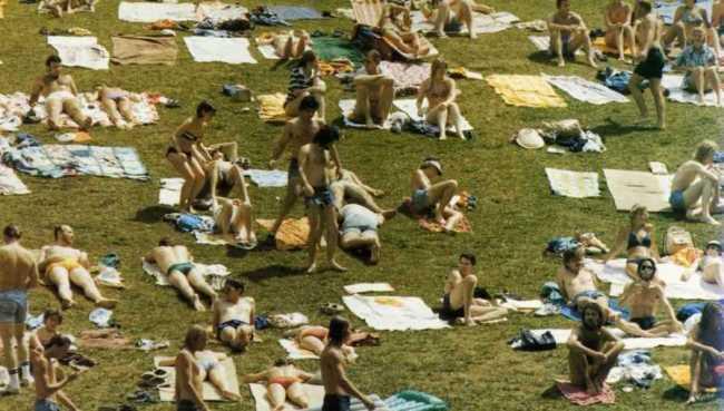 Barton Springs 1978