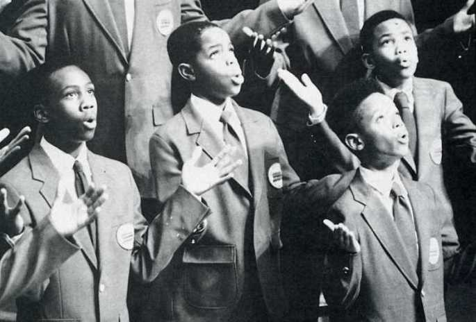 Harlem Boys Choir celebrates release of Nelson Mandela 1990