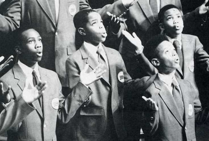 Harlem Boys Choir celebrates release of Nelson Mandela 1990