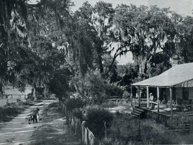 The old Nicholas Weeks House built in 1803, Alabama, Holiday magazine, Jan 1949