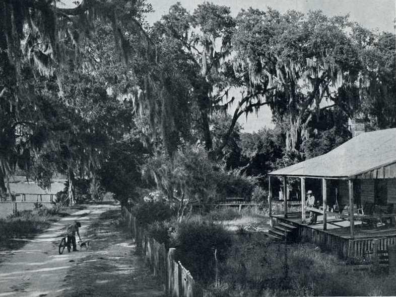 The old Nicholas Weeks House built in 1803, Alabama, Holiday magazine, Jan 1949