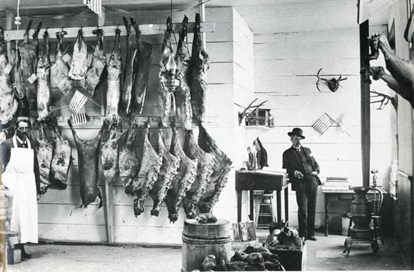 The West-Socorro New Mexico Meat Market by Joseph E Smith