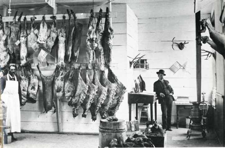 The West-Socorro New Mexico Meat Market by Joseph E Smith