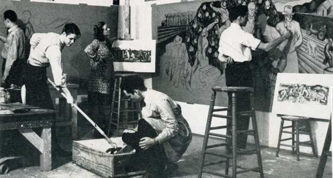 UT Austin Art School 1941