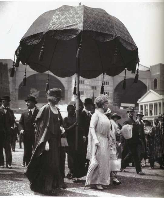 Queen Mary visiting The Empire Exhibition at Wembley 1924