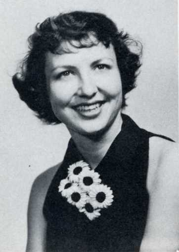 Pauline--1952 President of the Westminster Youth Fellowship