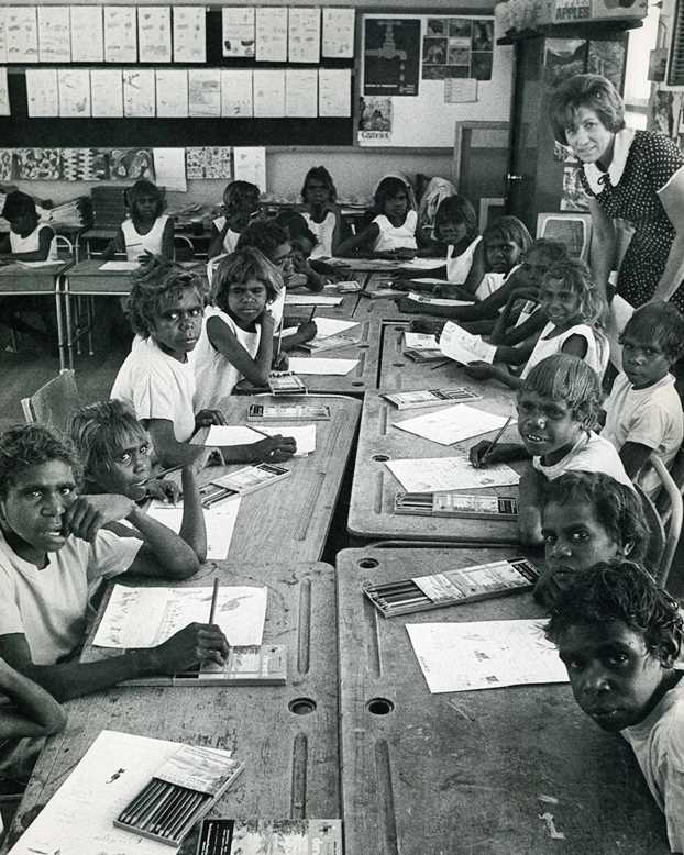Papunya School, Alice Springs, 1972
