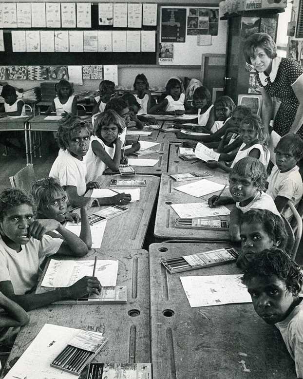 Papunya School, Alice Springs, 1972