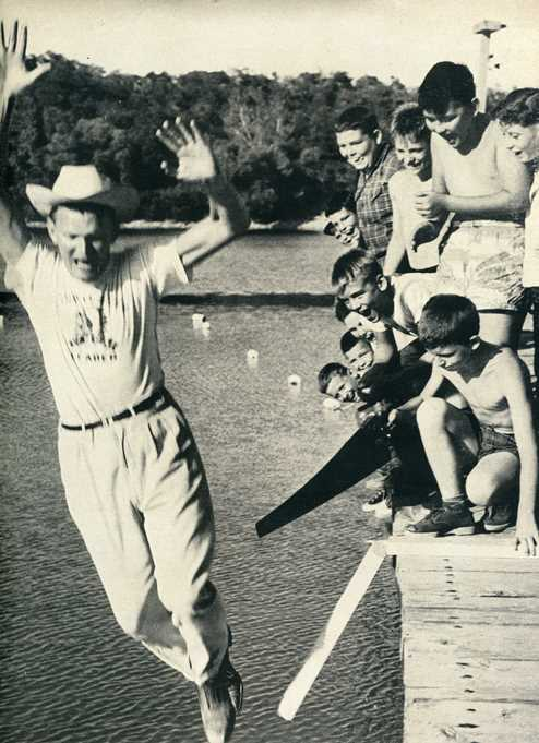 YMCA Camp, Davis, OK 1954