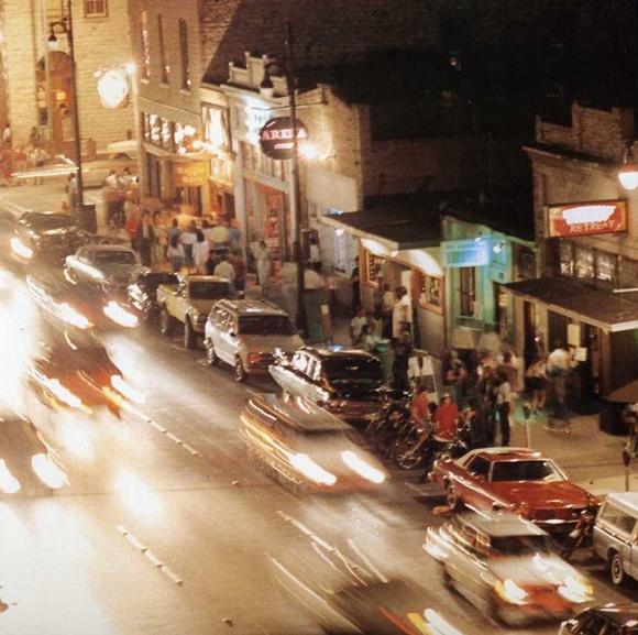 Austin Sixth Street 1987