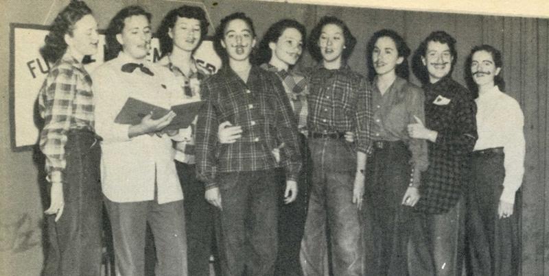 Comanche High School Choir 1951