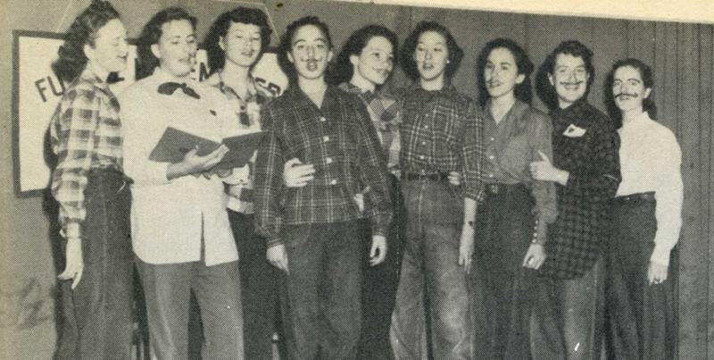 Comanche High School Choir 1951