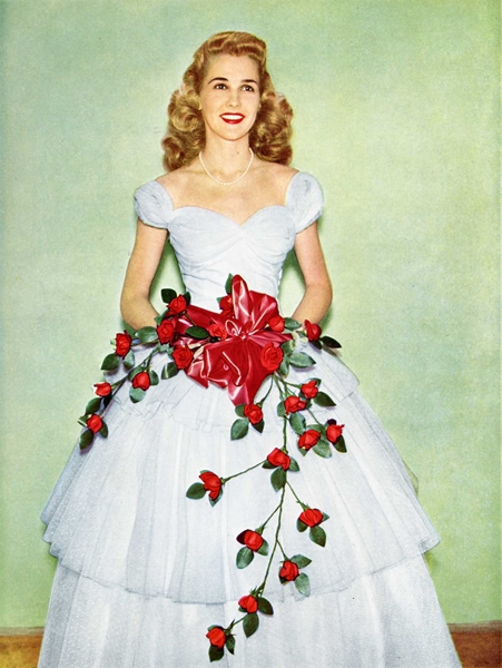 1948 Sweetheart of the University of Texas Anne Tynans