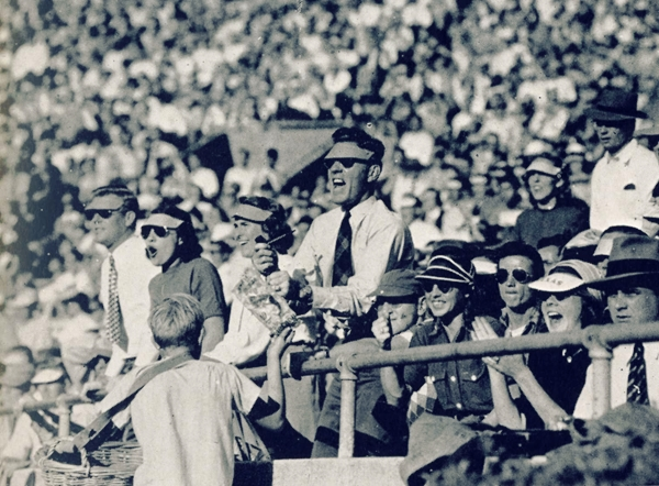UT-TCU football game 1947