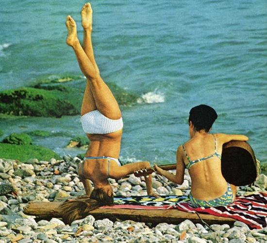Menton, France--Natl Geo '67