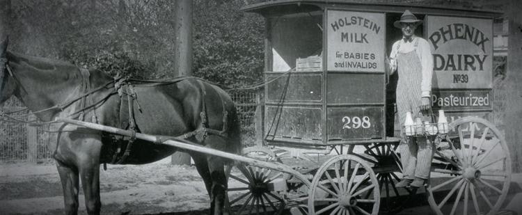 Phenix Milk Wagon 1927