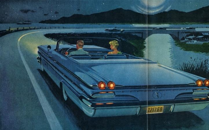 Pontiac Bonneville Convertible LIFE 1959