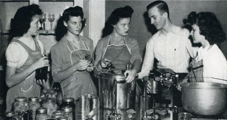 Thomas Jefferson High School 1945