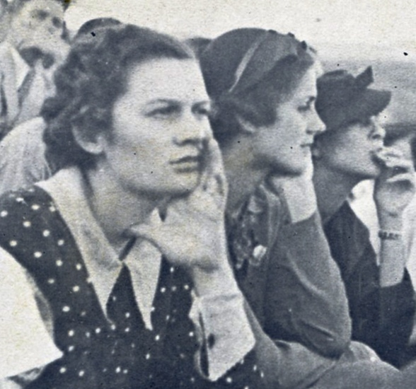 1937 Cactus, football game