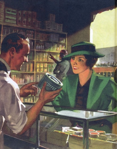 Maxwell House 1930s, All-American Ads by Heimann