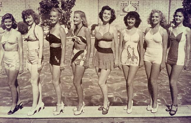 Florida Poster Girls 1948