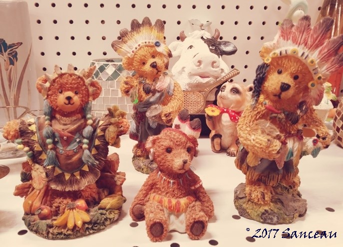 Offensive Racist Bears Appropriating Native American Culture – I Don